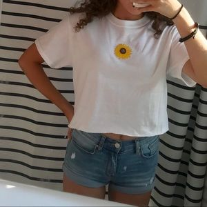 sunflower patch t shirt